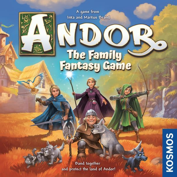 Andor The Family Fantasy Game cover