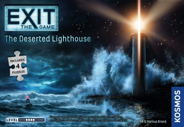 EXIT The Deserted Lighthouse cover