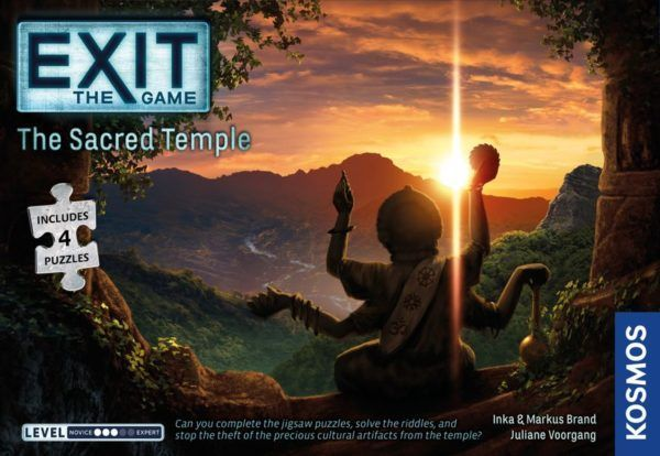 EXIT The Sacred Temple cover