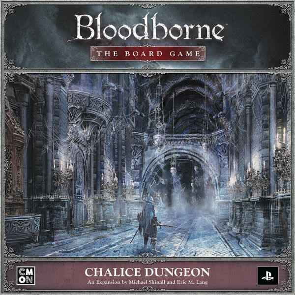 Bloodborne The Board Game The Chalice Dungeon cover