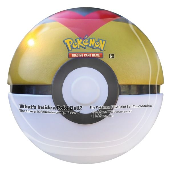 Pokémon TCG Poké Ball Tin Series 6 Example