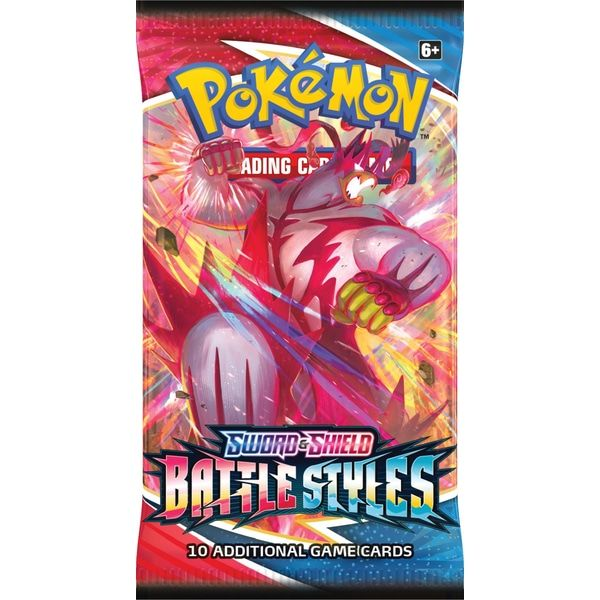 Pokemon TCG Battle Styles Booster Pack