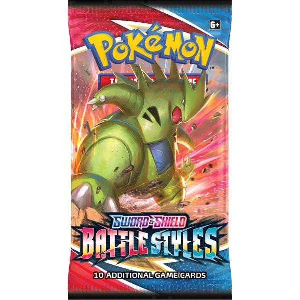 Pokemon TCG Battle Styles Booster Pack 3
