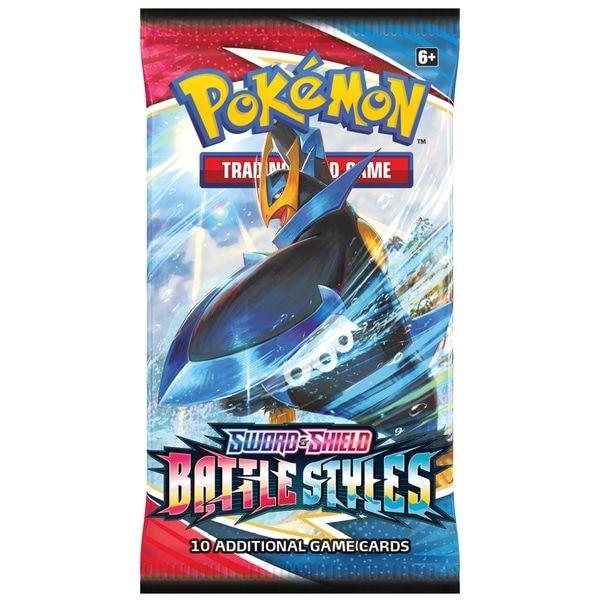 Pokemon TCG Battle Styles Booster Pack 4