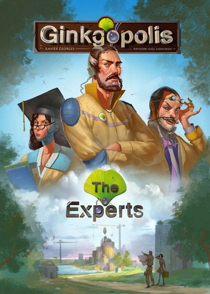 Ginkgopolis The Experts cover