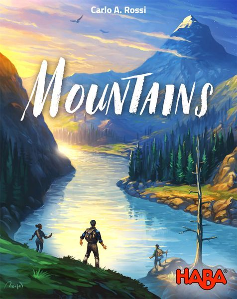 Mountains Board Game cover
