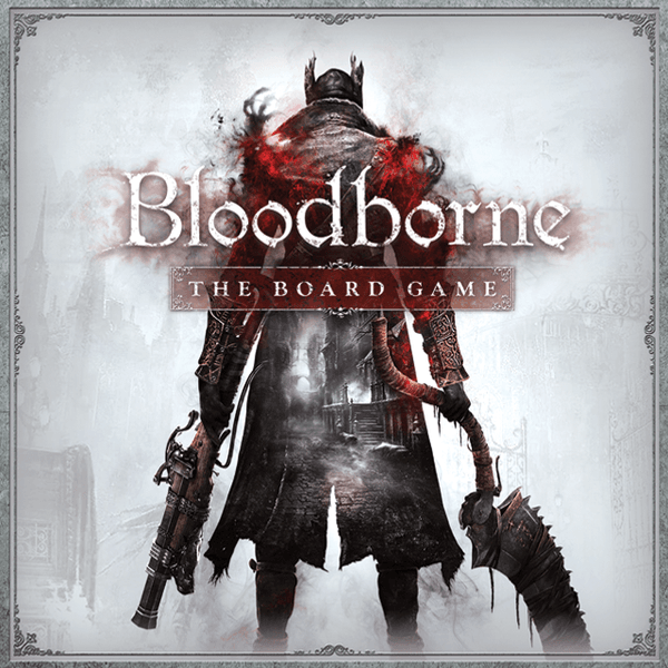 Bloodborne The Board Game cover