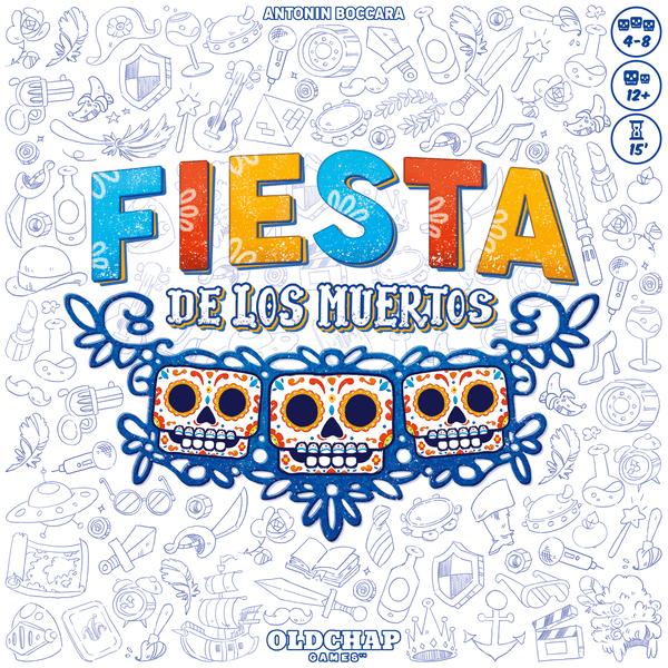 Fiesta de los Muertos Board Game cover