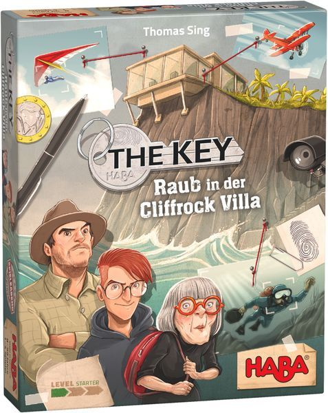 The Key Theft in Cliffrock Villa (Haba)