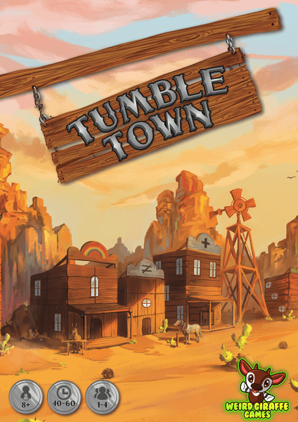 Tumble Town board game cover