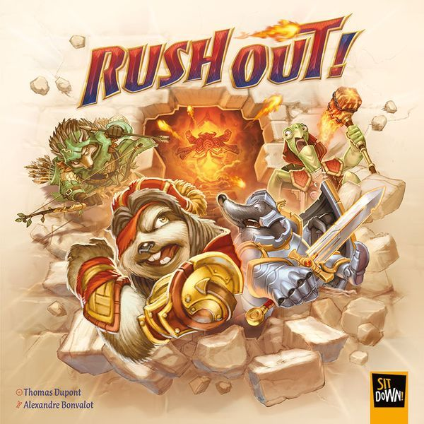 Rush Out Board Game cover