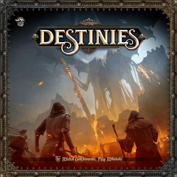 Destinies Board Game cover
