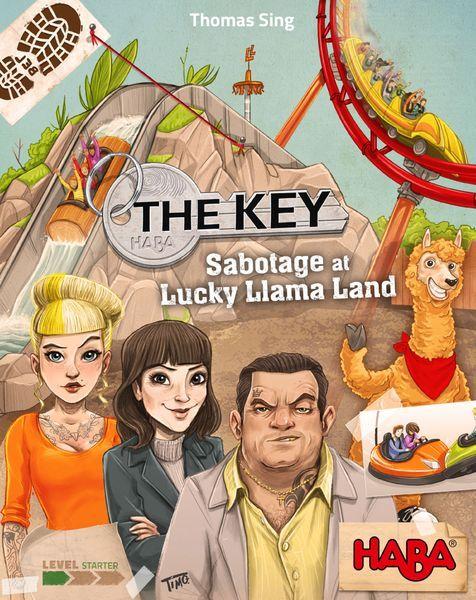 The Key Sabotage at Lucky Llama Land cover