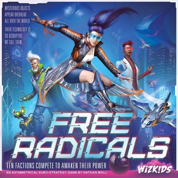 Free Radicals Board Game cover