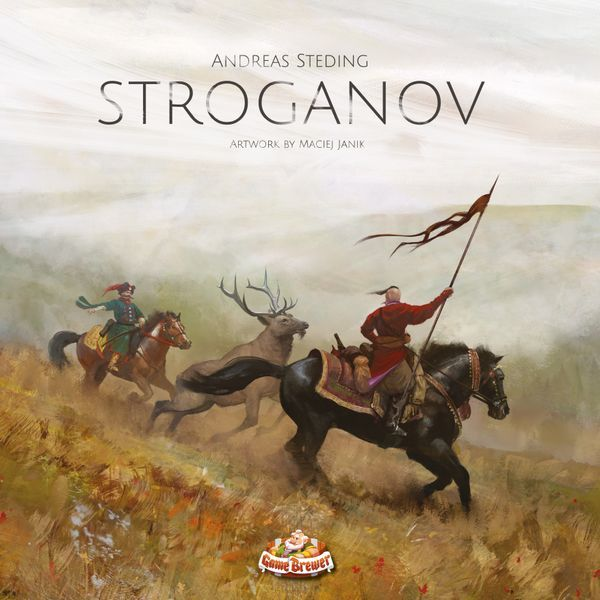 Stroganov board game cover