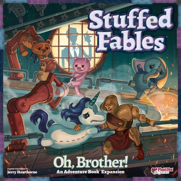 Stuffed Fables Oh Brother cover