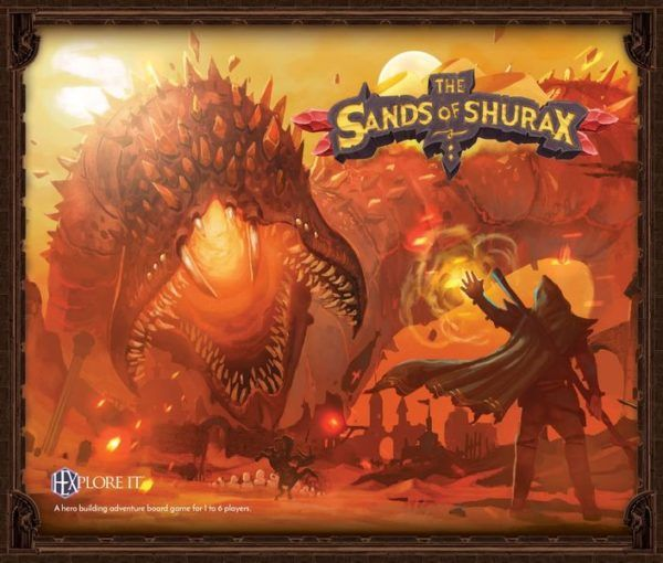 HEXplore It The Sands of Shurax cover