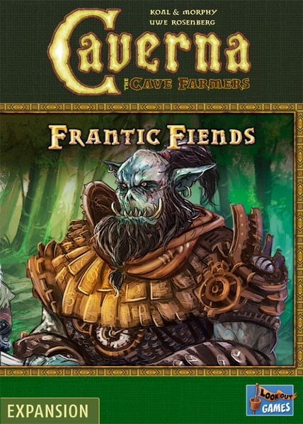 Caverna Frantic Fiends cover