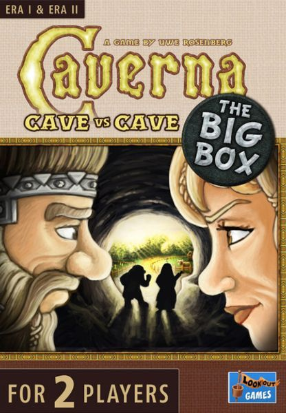 Caverna Cave vs Cave Big Box cover