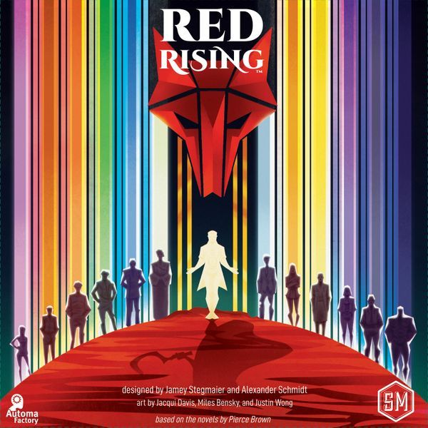 Red Rising Board Game cover