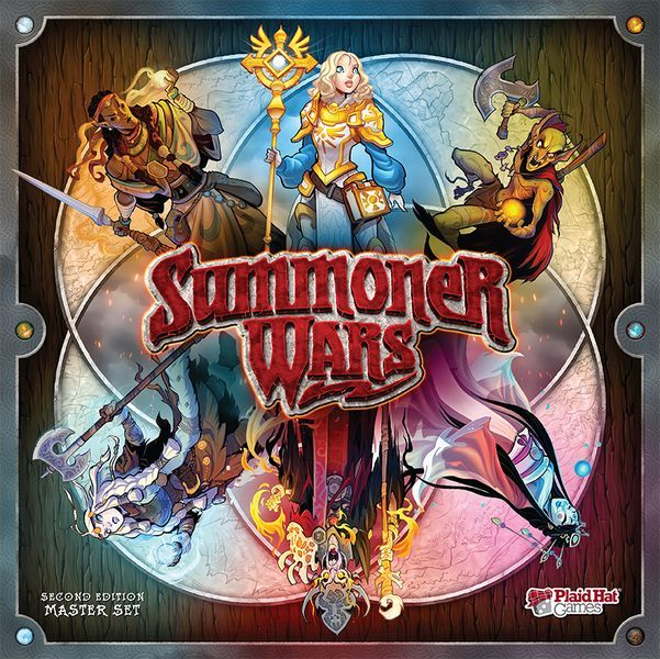Summoner Wars Second Edition Master Set Cover
