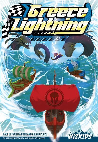 Greece Lightning Board Game cover