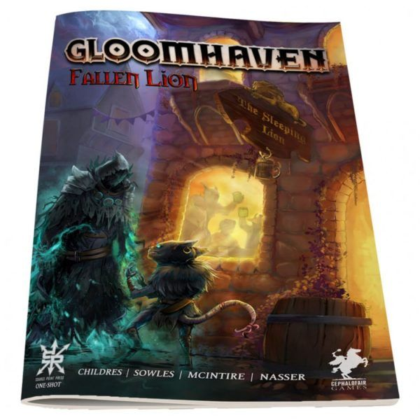 Gloomhaven Fallen Lion comic cover