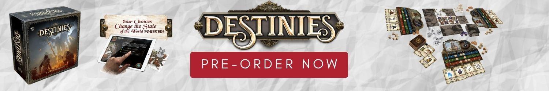 Destinies Pre-order Banner