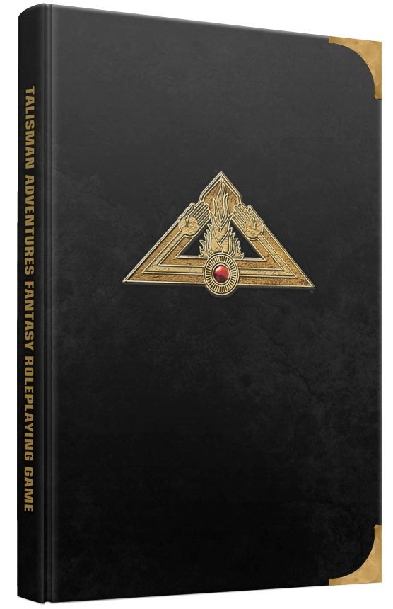 Talisman Adventures RPG Cover Limited Edition