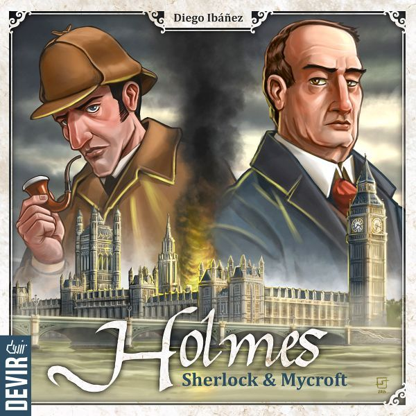 Holmes Sherlock & Mycroft cover
