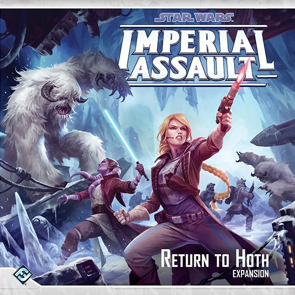 Star Wars Imperial Assault - Return to Hoth cover