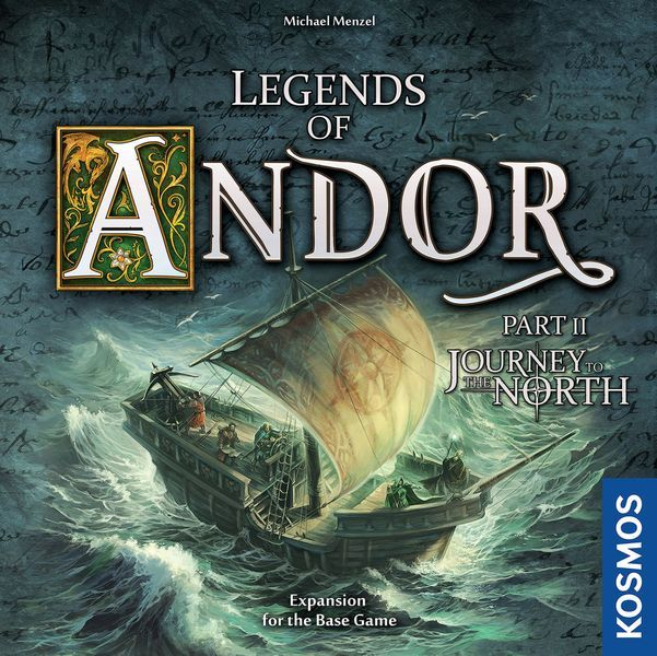 Legends of Andor Journey to the North cover