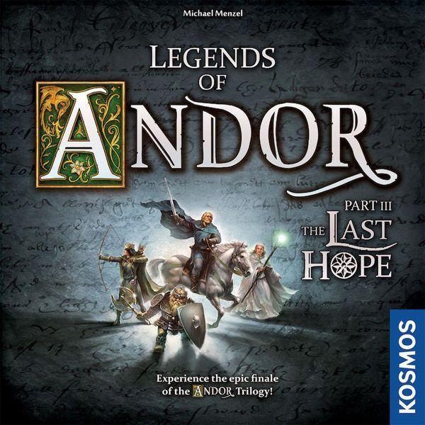 Legends of Andor The Last Hope cover