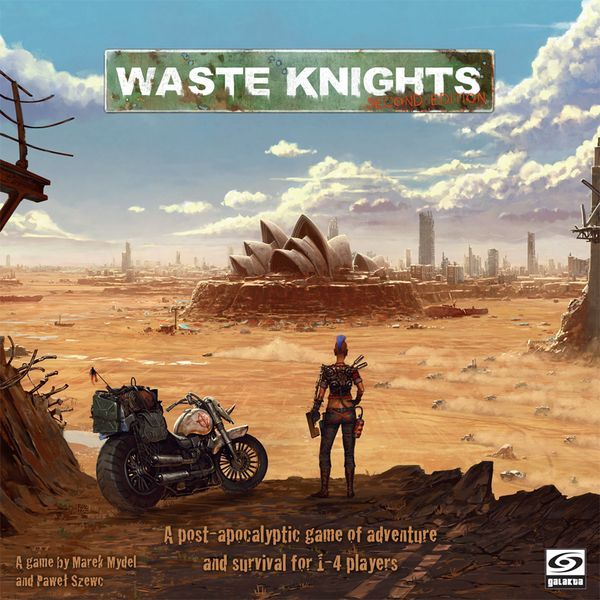 Waste Knights Second Edition cover
