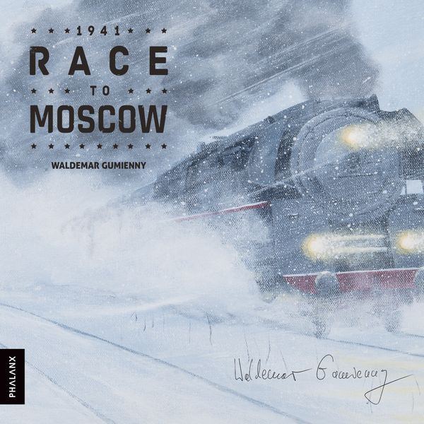 1941 Race to Moscow Board Game cover