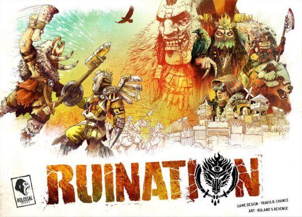 Ruination Board Game cover