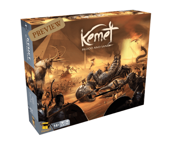 Kemet Blood and Sand cover