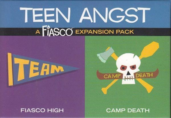 Fiasco Expansion Pack Teen Angst cover