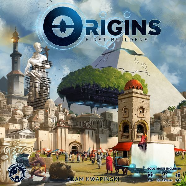 Origins First Builders cover