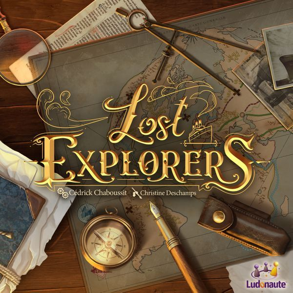 Lost Explorers board game cover