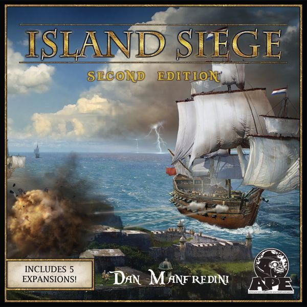 Island Siege Second Edition cover