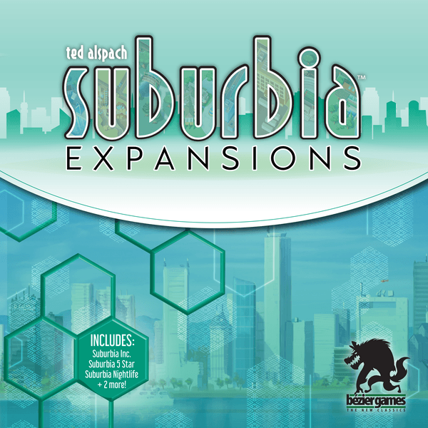 Suburbia Expansions cover