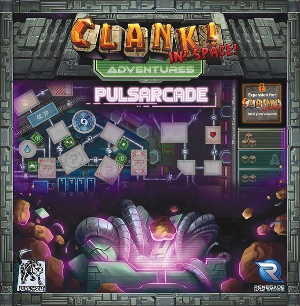 Clank In Space Adventures Pulsarcade cover