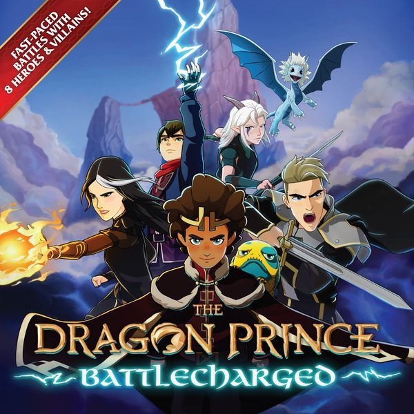 The Dragon Prince Battlecharged cover