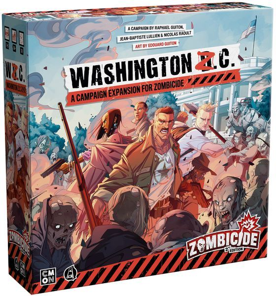 Zombicide 2nd Edition Washington Z.C. cover