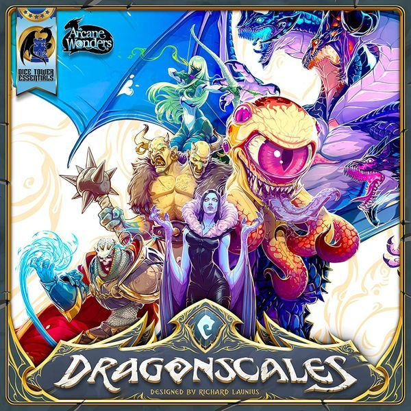 Dragonscales Board Game Cover