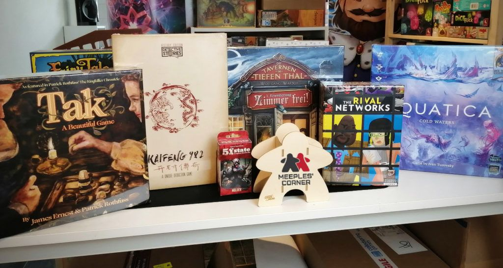 Six new games/expansions delivered todayl