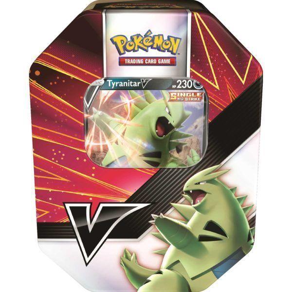 Pokémon V Strikers tin Tyranitar V