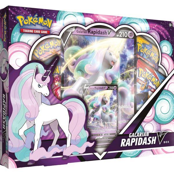Pokémon TCG Galarian Rapidash V Box cover