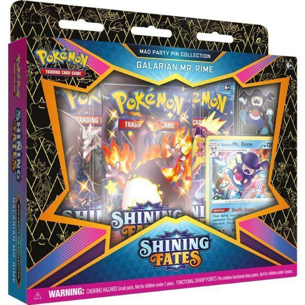 Pokemon TCG: Shining Fates Mad Party Pin Collection Variant 1